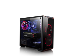 CLX SET GAMING Intel Core i7 9700K, NVIDIA GeForce RTX 2060 6GB GDDR6, 16GB Memory, 1TB HDD + 120GB SSD Storage MS Windows 10 Home