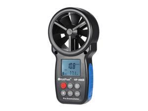 HoldPeak HP-866B Mini LCD Digital Anemometer thermometer Wind Speed Air Velocity Temperature tester anemometro with Backlight