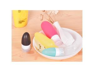 Portable Soft Silicone Travel bottles 89ML 4PCS Set Use for Shampoo Lotion and Conditioner