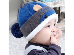 Kids Thick Hats Baby Infant Winter Warm Crochet ... 7c3118004