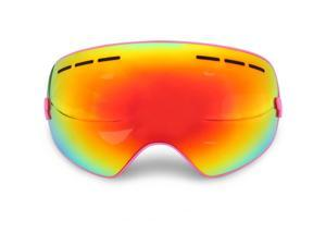 Ski Goggles Double Layers Large Spherical Mask Anti Fog Snow Glasses Snowboard Goggles