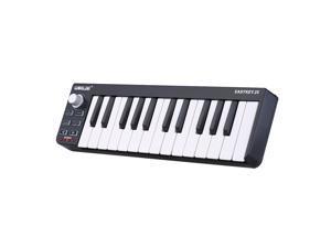 EC2WORLD Portable Keyboard Mini 25-Key USB MIDI Controller