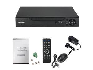 EC2WORLD 16CH 1080P Hybrid NVR AHD TVI CVI DVR 5-in-1 Digital Video Recorder