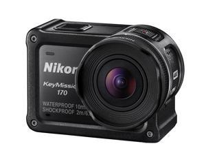 Nikon KeyMission 170 4K Action Camera - International Model