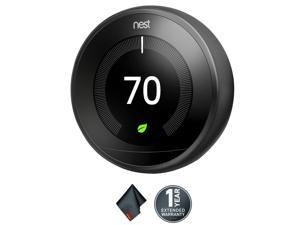 Nest Learning Thermostat (3rd Generation, Black)