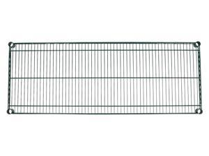 "Apollo Hardware Green Epoxy Wire Shelves(Individual Wire Shelves) (18""x48"")"