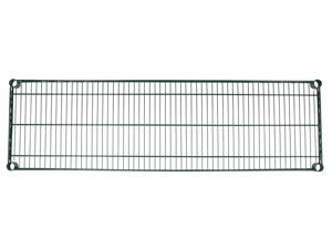 "Apollo Hardware Green Epoxy Wire Shelves(Individual Wire Shelves) (14""x48"")"
