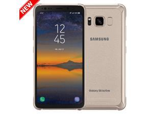 NEW AT&T  SAMSUNG GALAXY S8 ACTIVE SM-G892A 64GB TITANIUM GOLD