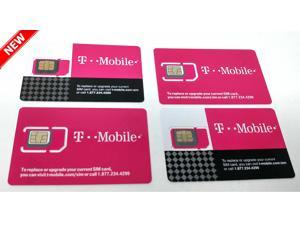 ce59ee975bf T-Mobile 4G LTE SIM Card Triple Cut 3 in 1 ...