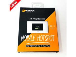 ZTE Warp Connect by Boost Mobile 4G LTE Connect 10 Devices 2300mAh Battery Mobile Hotspot - ZTEMF920ABB