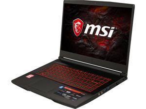 "MSI GF63 8RD-223 8th Gen Intel Core i5-8300H, 8GB DDR4 2400MHz, 256 SDD, Nvidia GeForce GTX 1050Ti 4GB, 15.6"" Full HD IPS Level Windows 10 VR Ready Gaming Laptop With Max Q Design"