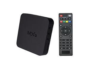 MXQ Android 4.4.2 Amlogic Quad Core HDMI 1080P Wifi Smart TV Box Streaming Media Player