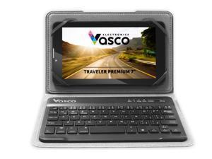 "Vasco Traveler Premium 7"" + Keyboard: Voice Translator, GPS, Travel Phone, Guide and much more!"
