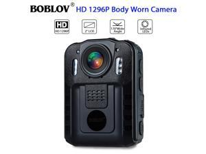 Boblov WN9 1296P Full HD Portable Police Body Camera Pocket Action Recorder Night Vision Video Camcorder
