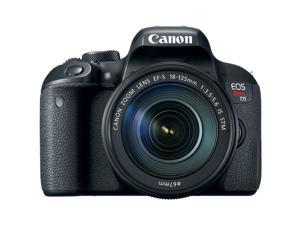 Canon EOS Rebel T7i Digital SLR Camera with EF-S 18-135mm IS STM Kit