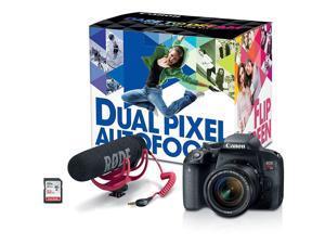 Canon EOS Rebel T7i Digital SLR Camera (Body) w/ Video Creator Kit - 1894C021