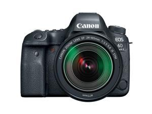 Canon EOS 6D Mark II 26.2MP Full-Frame Digital SLR Camera with EF 24-105mm IS STM Lens