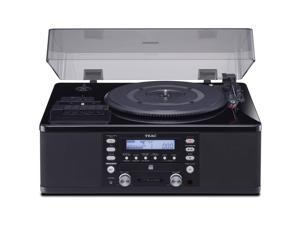 Teac LP-R660USB-PB Turntable w/ USB, CD Recorder, Cassette Deck & AM/FM Tuner (Black)