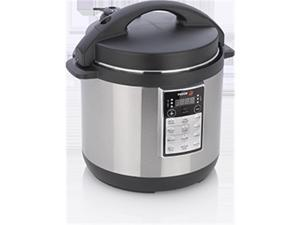 Fagor LUX Multi-Cooker 6-Quart Electric Pressure, Slow and Rice Cooker Champagne