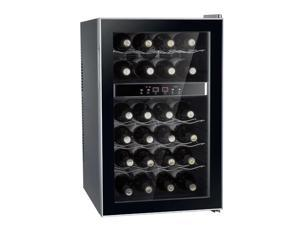 Sunpentown WC-2462M 24-Bottle Dual-Zone Thermo-Electric Wine Cooler