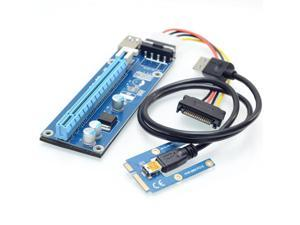 Mini PCIe to PCIe 16X for Laptop External Graphics Card Mini ITX to PCI-e slot Expansion Card For Bitcoin BTC Miner Machine