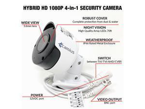 Camius 2.1MP 1080p 4-in-1 TVI / AHD / CVI / 960H
