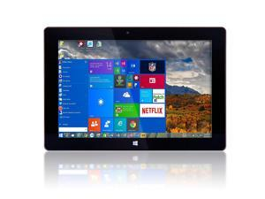 "10"" Windows 10 Fusion5 Ultra Slim Windows Tablet PC - 2GB RAM - 32GB Storage -Full USB Port - Touch Screen - Intel Cherry Trail (Quad-core) Z8350) - 5MP and 2MP Cameras - Bluetooth Tablet PC"