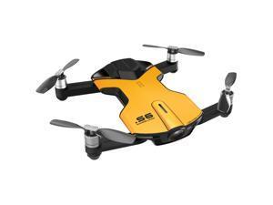 Wingsland S6 (Outdoor Edition) Yellow Mini Pocket Drone 4K Camera