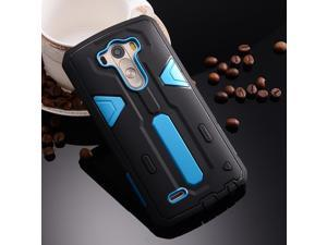 For LG G3 Case Hybrid Future Armor Hard Back Cover Shield Double color  Protector Mobile Phone c2d8f2380ef6