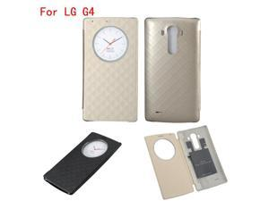 Quick Circle Case for LG G4 Flip Leather Battery Cover NFC Wireless Charging ...