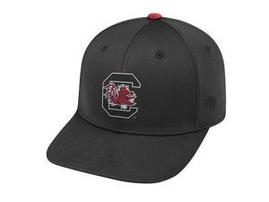 South Carolina Gamecocks NCAA TOW Impact Black Stretch Fitted Hat f22b22e40d2e