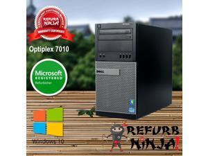 Dell OptiPlex 7010 Intel Quad-Core i5 (3.20GHz), 8GB RAM, 1TB HDD, DVD, Windows 10 Pro, WiFi