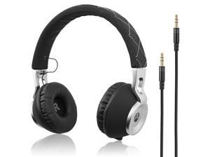 e89c5b6f157 Audiomate High Bass Wired Over-Ear Headphones | Stylish Foldable and Portable  Headset with Drawstring