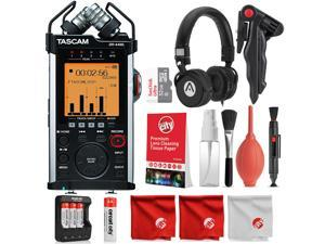 Tascam DR-44WL Portable Handheld Recorder and Deluxe Accessory Bundle