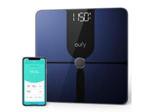 eufy Smart Scale P1 with Bluetooth, Body Fat Scale, Wireless Digital Bathroom Scale, 14 Measurements, Weight/Body Fat/BMI, Fitness Body Composition Analysis, Black, lbs/kg
