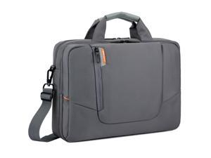 Wllhouse Laptop Carrying Bag, BRINCH Notebook Case with Suitcase Back Belt For 14 - 14.6 inch Macbook Pro Retina Apple Macbook Mini Asus DELL HP Samsung Sony Laptop