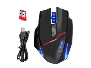 dc36bacbae1 Zelotes Wireless Gaming Mouse Optical PC Mice - with USB Adapter, Portable,  6 Adjustable