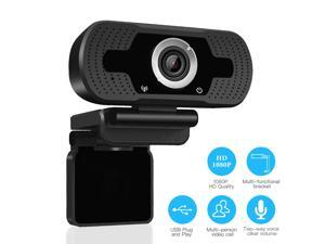 1080P Full HD Webcam ,Digital Web Camera with Microphone, USB 2.0 for PC,Laptops and Desktop