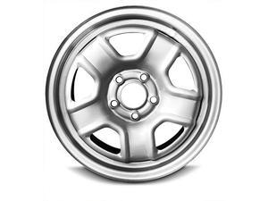 New 16x6.5 Jeep Patriot (07-16) Compass(14) 5 Lug Silver Full Size Replacement Steel Wheel Rim