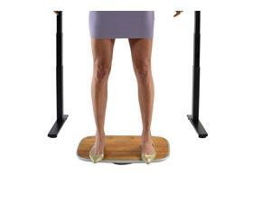 Standing Desk Balance Board. Best under-desk wobble stability rocker platform for the active office. ergonomic sit stand up fidget accessories furniture products 360 full range of motion