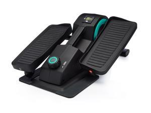 Cubii Jr: Desk Elliptical w/ Built In Display Monitor, Easy Assembly, Quiet & Compact, Adjustable Resistance (Aqua)