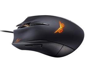STRIX CLAW DARK EDITION Right-handed ergonomic optical gaming mouse crafted for first-person shooting gamers