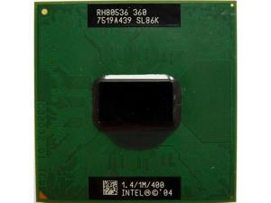 SL86K Socket Intel Celeron M 360J 1.4GHz Laptop CPU Laptop Processors