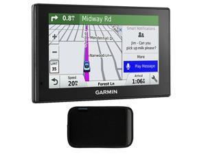 Garmin 010-01539-01 DriveSmart 50LMT GPS Navigator With GPS Bundle