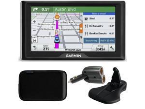 Garmin Drive 50LM GPS Navigator Lifetime Maps (US) 010-01532-0C Case + Mount + Charger