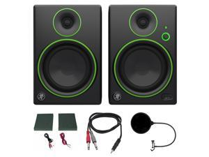 Mackie CR5BT CR Series Channel Studio Monitor (Pair) w/ Pro DJ Bundle