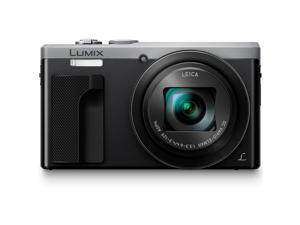 Panasonic Lumix DSC-ZS60 18MP 4K Digital Camera w/ 30x Optical Zoom (Silver)