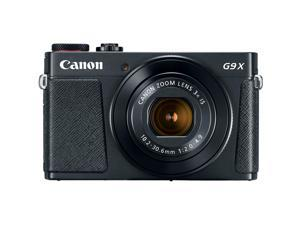 "Canon PowerShot G9 X Mark II 1"" 20.1MP 4x Zoom Digital Camera, Wifi, Black"