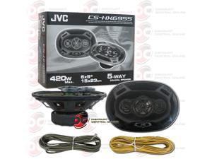 "JVC-CS-HX6955 6X9"" 5-WAY CAR AUDIO SPEAKERS (HX SERIES)"