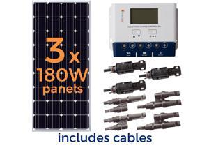 Grape Solar 540-Watt Off-Grid Solar Panel Kit